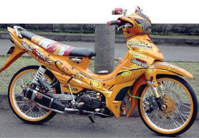 Gambar Modifikasi Motor Yamaha Jupiter Z Terkeren : title=