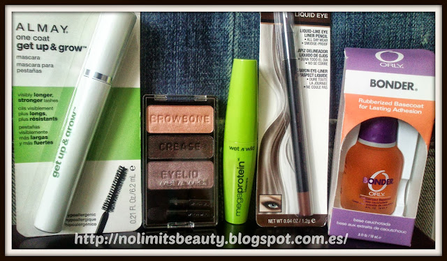 Compras Wet n Wild, Milani, Almay, Orly