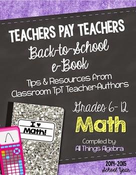 http://www.teacherspayteachers.com/Product/Math-Back-to-School-eBook-for-Grades-6-12-1376805