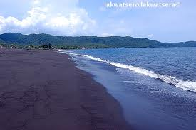 Sto. Domingo, Black Sand Beaches