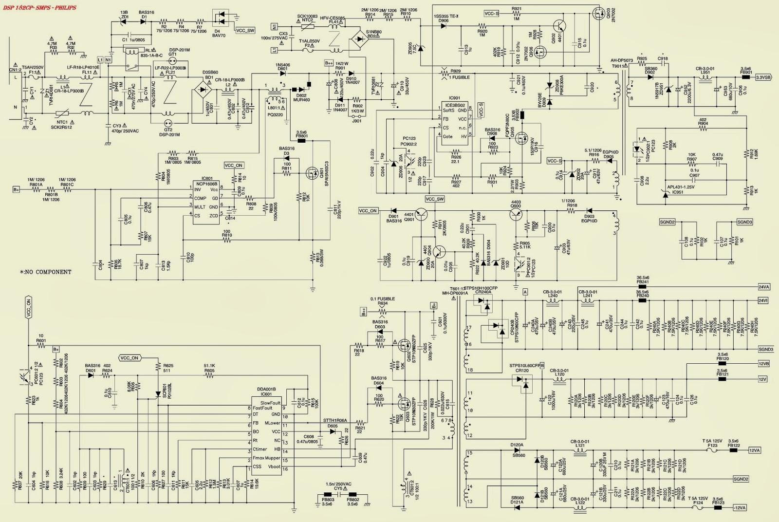 philips 32pfl3403 smps [power supply regulator] schematicphilips 32pfl3403 smps [power supply regulator] schematic (circuit diagram)