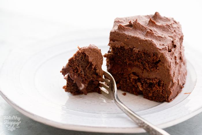 Batter Baked Fluffy Vegan Chocolate Cake