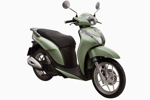 Phiên bản mới Honda SH Mode giá 50,5 triệu đồng