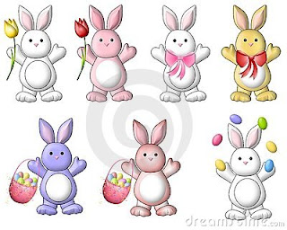 Free Cute Funny Easter Bunny Clipart Images