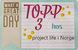Project Life, Norge - Top3