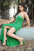 Ankita Sharma Hot photo shoto in Green-thumbnail-20