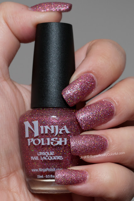 Ninja Polish - Strawberries n' Roses