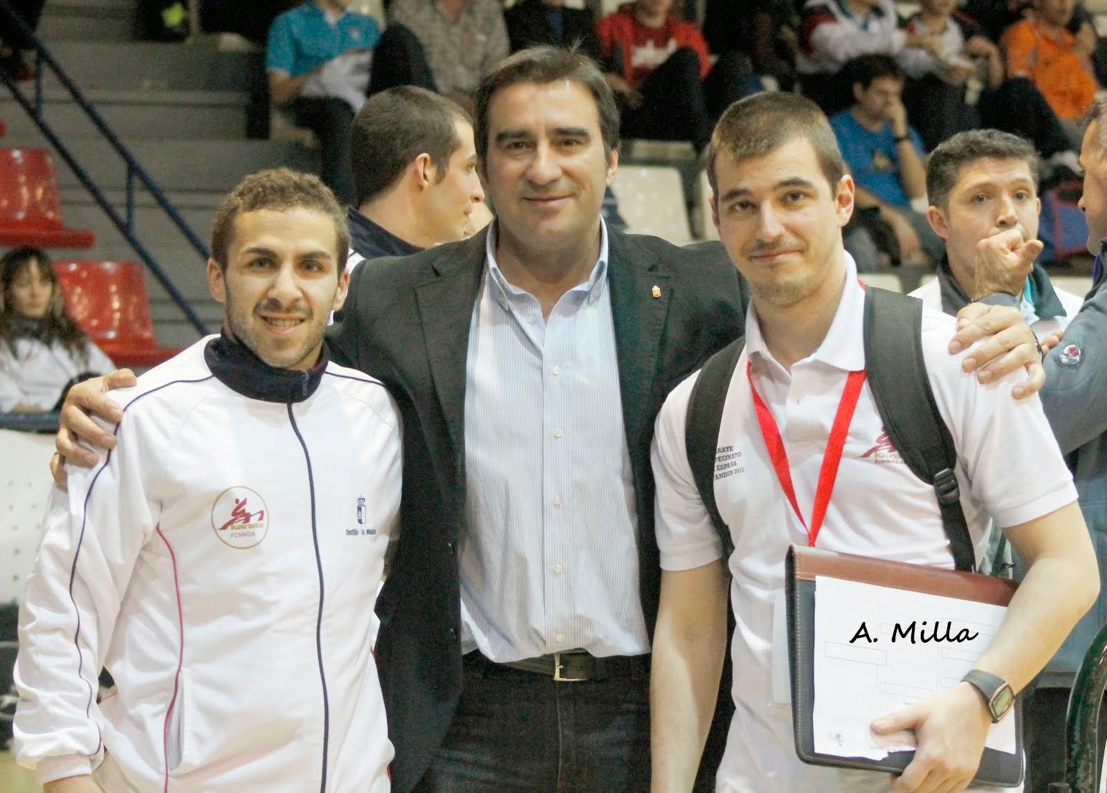 Matias, Vicente y Julio Cuadra