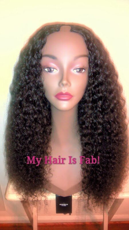 Custom Wig Making Services Yummy Extensions U Part Wig Finished