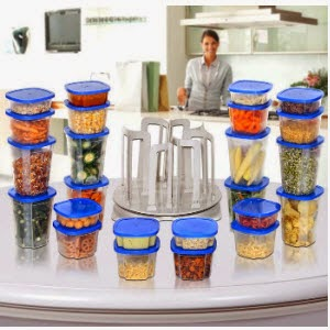 Pepperfry: Buy Marvel Spin N Store Kitchen Organiser 49 Pcs Rs.499