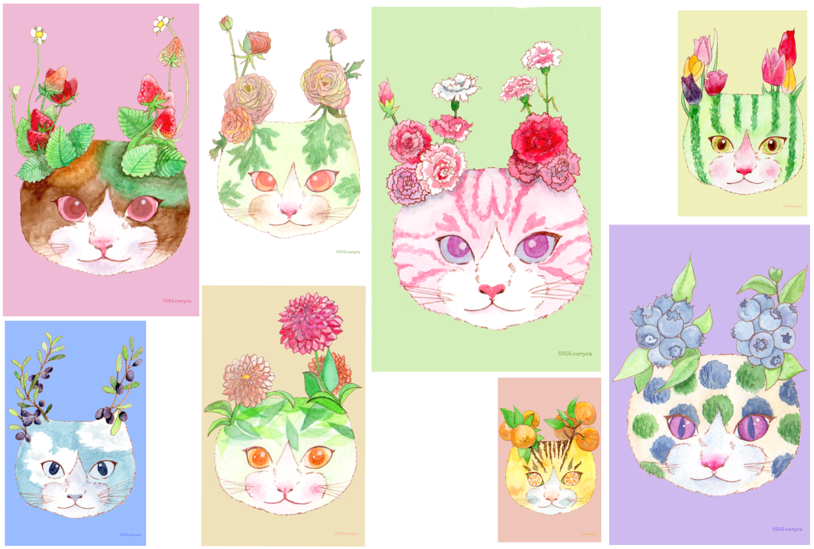 botanical cats