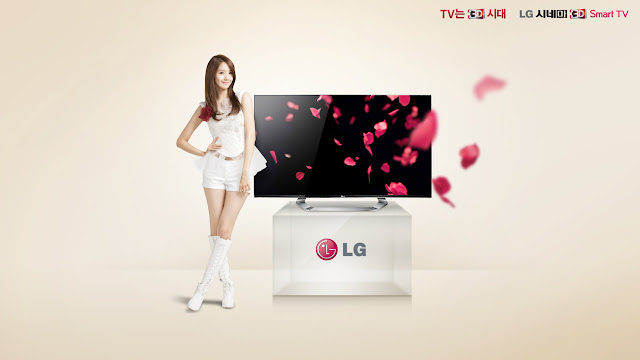 Yoona Wallpaper by LG