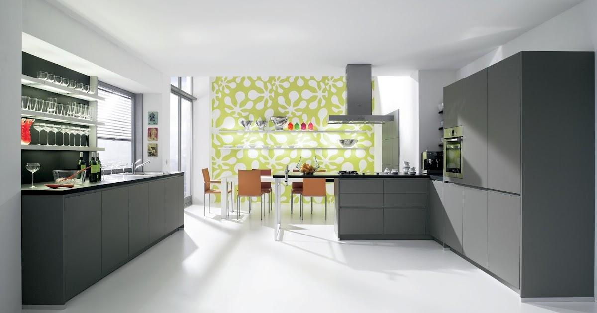cuisine design laqu233e mate gris anthracite