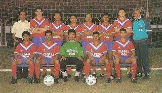 "Skuad ""Double Champions"" 1991"