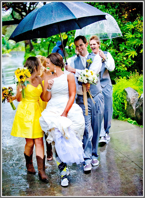 Свадьба под дождем