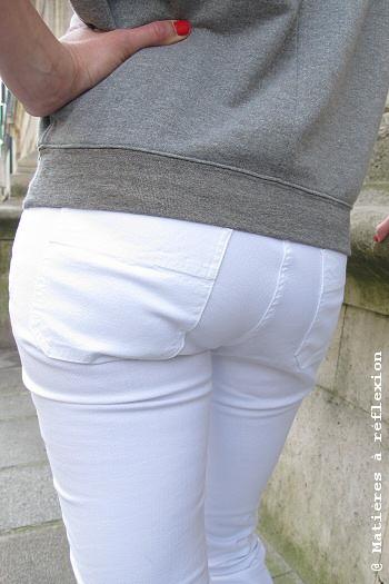 Look Jeans blanc Sessun pantalon 'Meridian Brothers'