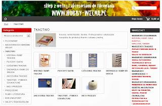sklepy tkackie / akcesoria tkackie / hobby-wełna