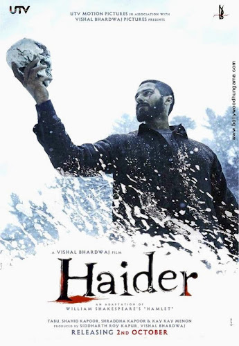 Haider (2014) Movie Poster No. 1