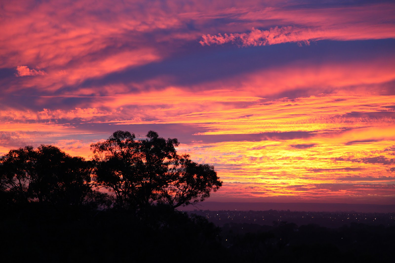 Perth and other places sunrise this morning for Morning sunrise images
