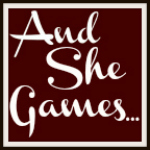 And She Games... Button