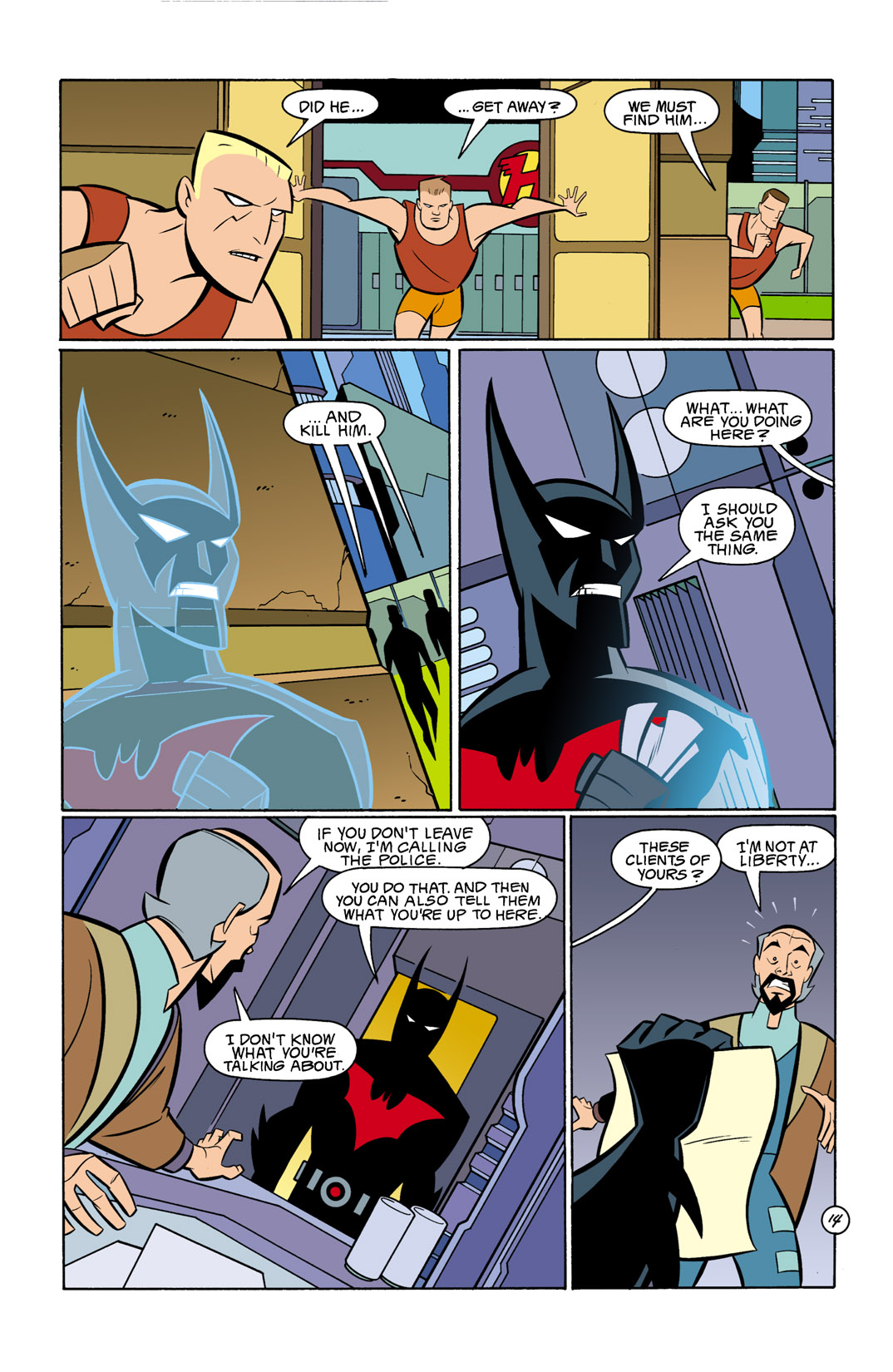 Batman Beyond [II] Issue #11 #11 - English 15