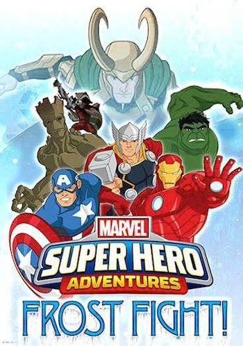 Marvels Super Hero Adventures Frost Fight 2015 English Movie Download