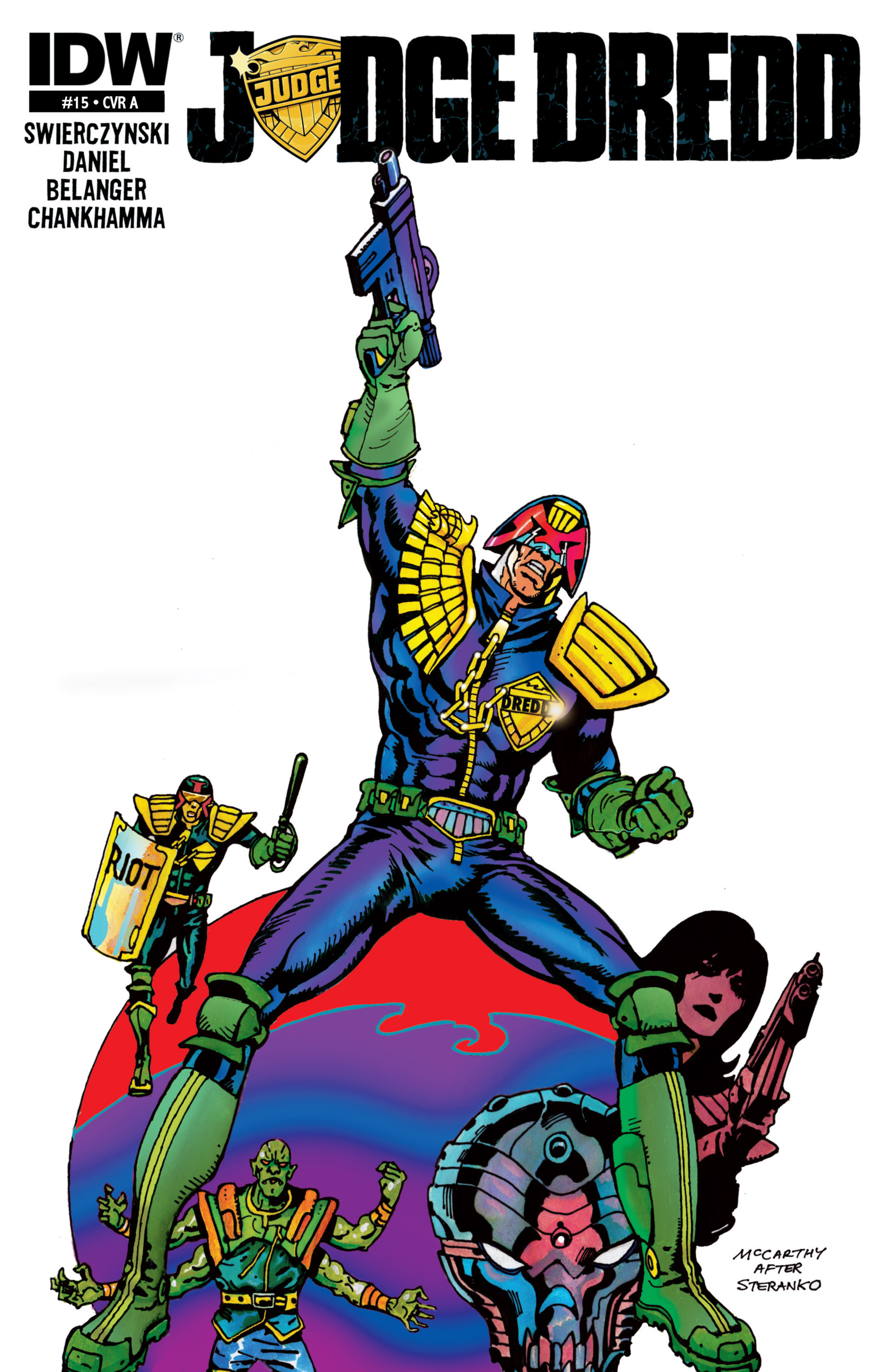 Read online Judge Dredd (2012) comic -  Issue #15 - 1