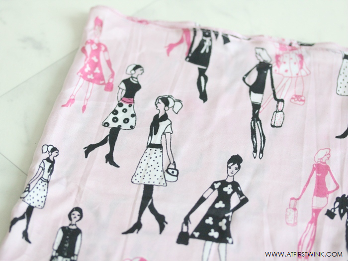sissy-boy pink silk scarf