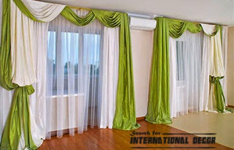 green curtains,bedroom curtains,window treatments,bedroom curtain ideas