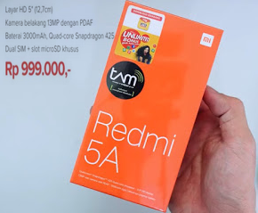 Harga official Xiaomi REDMI 5A