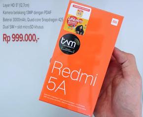 Harga official Xiaomi REDMI 5A