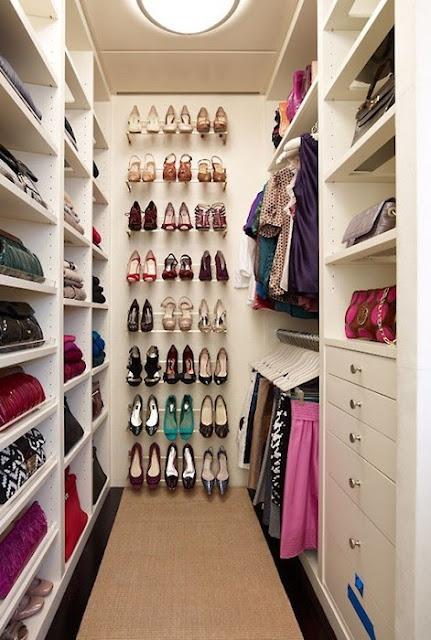 Walk in Closet Guardarropas Vestidores grandes Amplios armarios