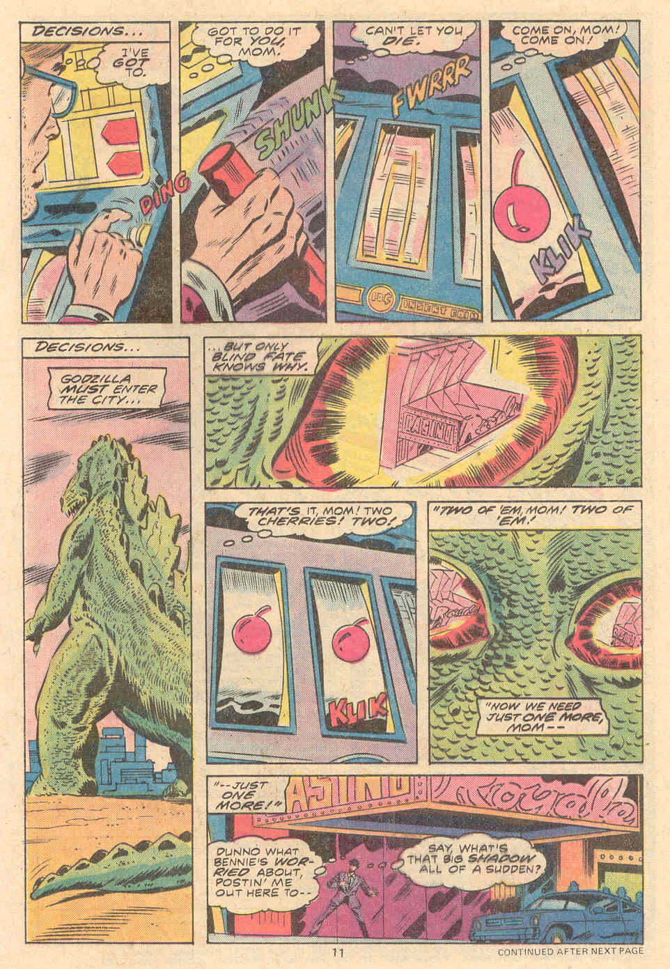 Godzilla (1977) Issue #9 #9 - English 8