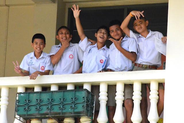 Phuket Town school boys