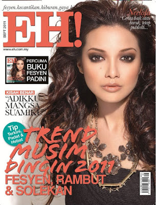 Neelofa Cover Majalah EH Edisi September