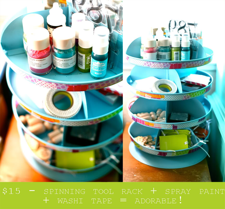 Craft Carousel Organizer submited images.