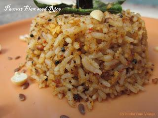 peanut-flax-seed-rice-verkadalai-rice
