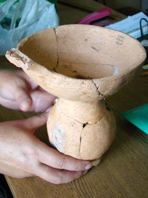 Фото Укринформ: сосуд трипольской культуры
