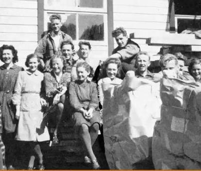 Stokke employees circa 1940