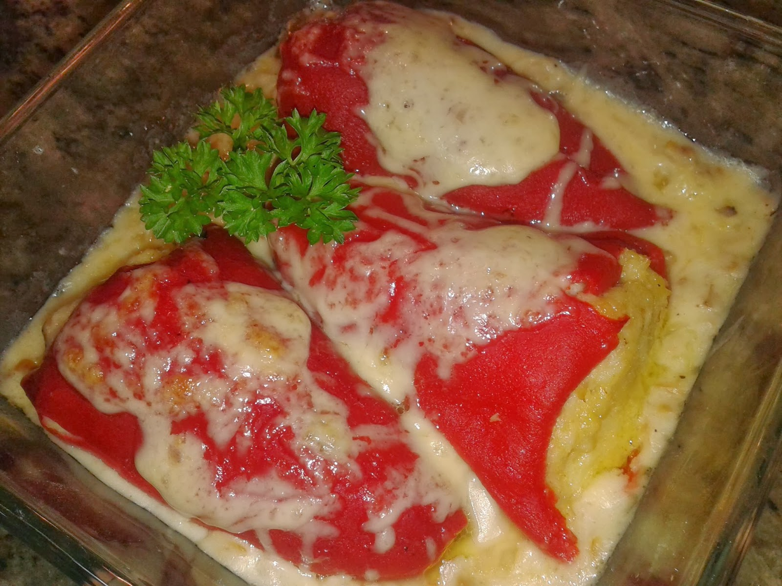 Mis recetas pimientos de piquillo rellenos de bacalao a - Nata para cocinar mercadona ...