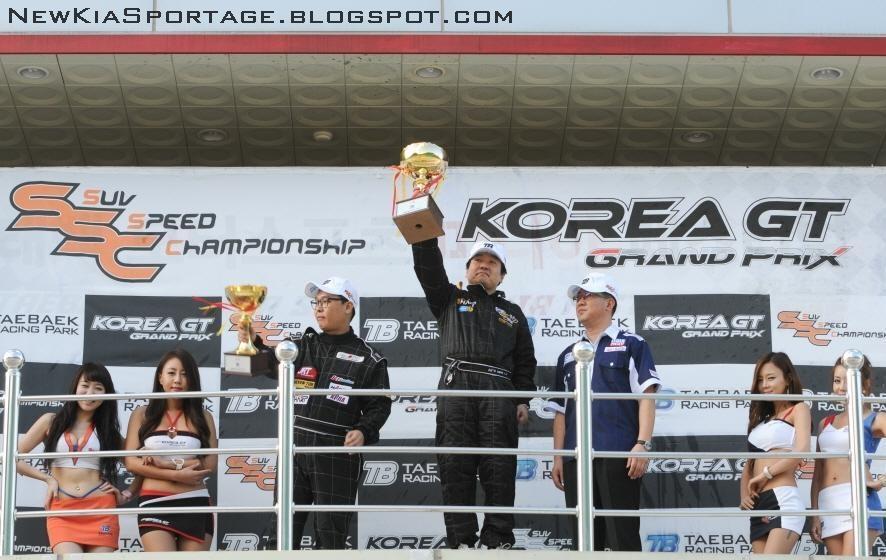 Campeonato de SUV´s en Korea