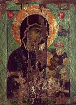 Икона Богородице ''Необорива стена''