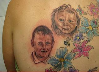 original tattoos - bad portrait tattoo