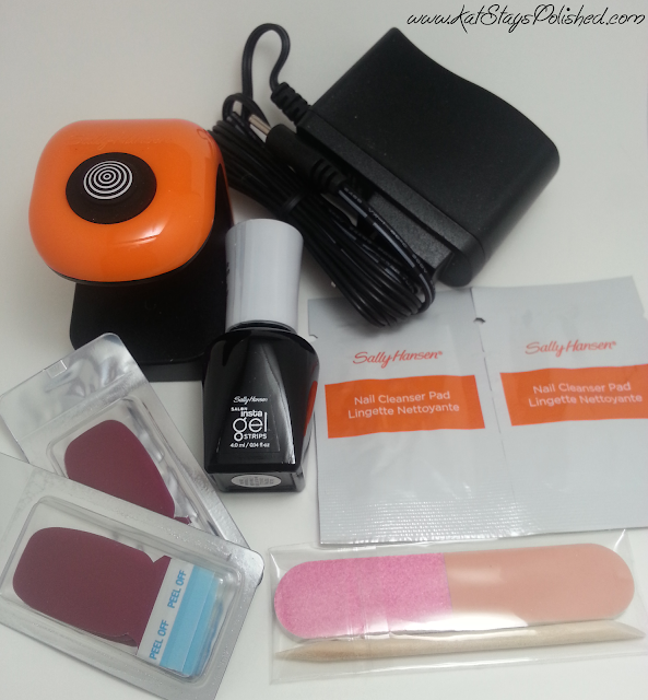 Sally Hansen Gel Strips Starter Kit - Wine Not