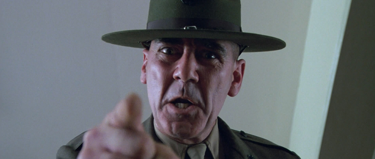And So It Begins...: In Character: R. Lee Ermey