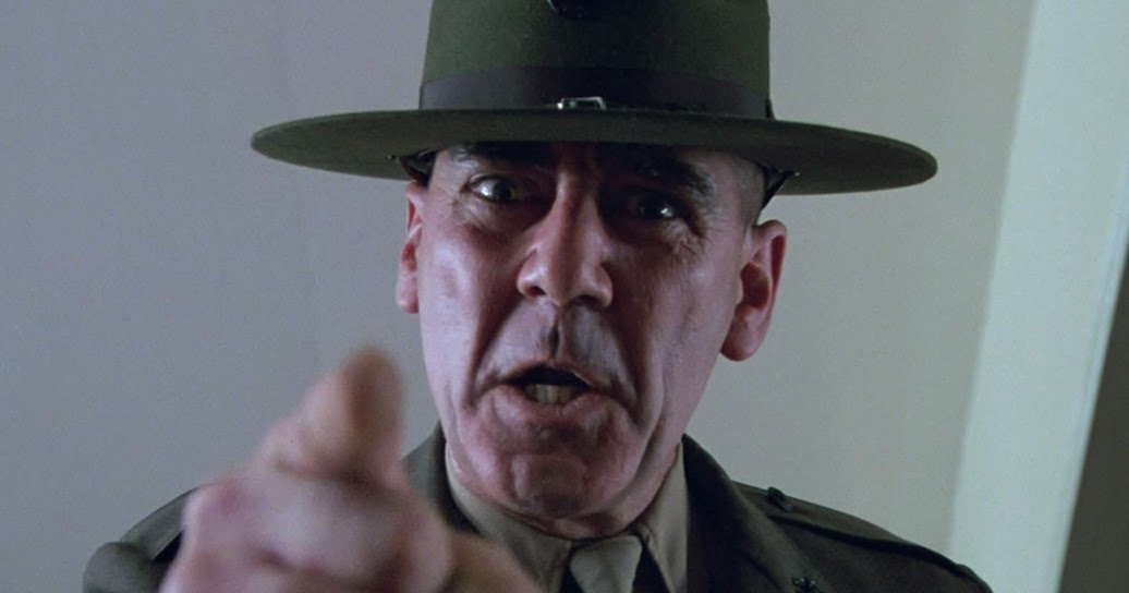 R Lee Ermey In Character: R. Lee E...
