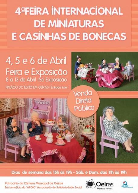 4ª Feira Internacional de Miniaturas de Portugal