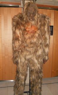 El enorme yeti no podía faltar en la exposición del misterio.