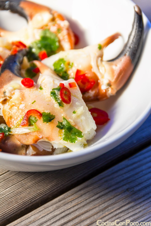 Receta de bocas de mar o pinzas de cangrejo