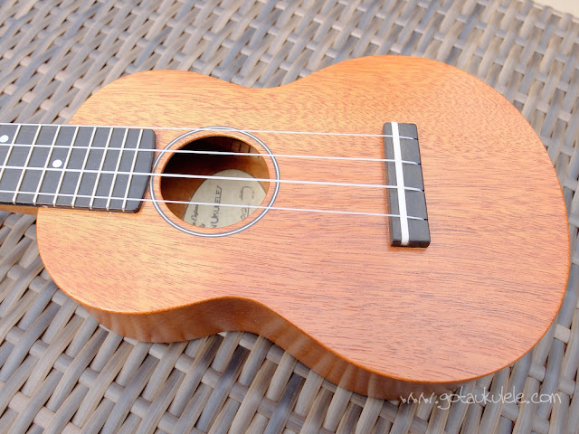 DJ Morgan Soprano ukulele top